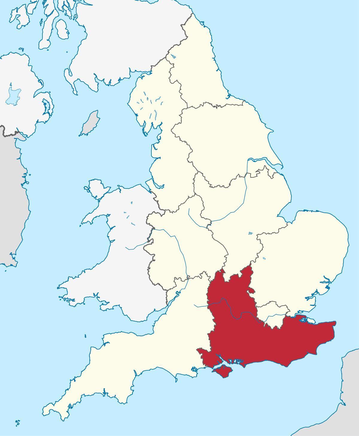 Zuid Oost Engeland Kaart Kaart Van Verenigd Koninkrijk Zuid Oost
